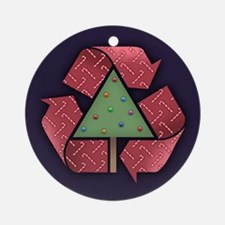 Recycle X-Mess Ornament (Round)