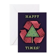 Recycle X-Mess Greeting Card