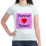 Forever Yours Jr. Ringer T-Shirt