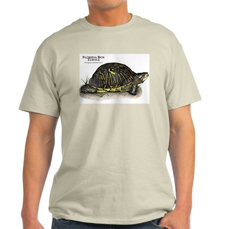 Florida Box Turtle Light T-Shirt