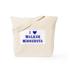 I Love Walker Winter Tote Bag