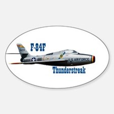 F-84F Thunderstreak Oval Decal