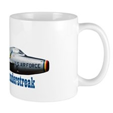 F-84F Thunderstreak Small Mug