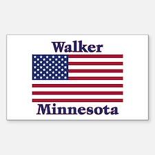 Walker Flag Rectangle Decal