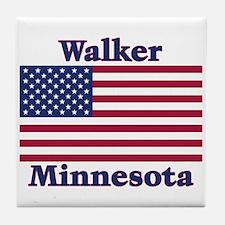 Walker Flag Tile Coaster