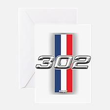 Engine 302 Greeting Card