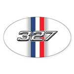 Engine 327 Oval Sticker (50 pk)