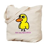 Duck Song Tote Bag