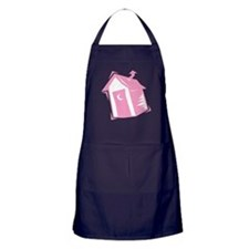 Pink Outhouse Apron (dark)