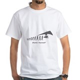 Evolution Mens White T-shirts