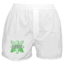 Lady Disc Golf Mint Boxer Shorts