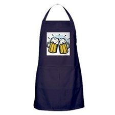 BEER MUGS Apron (dark)