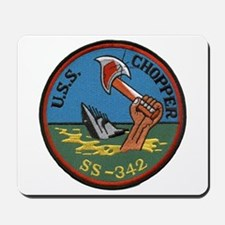 USS CHOPPER Mousepad