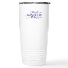 Funny Plumbers Travel Mug