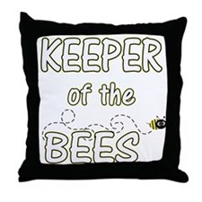 Keeper of Bees Throw Pillow