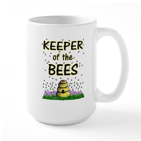 Keeping bees Large Mug