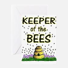 Keeping bees Greeting Card