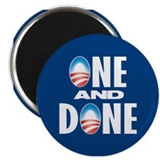 One & Done Magnet