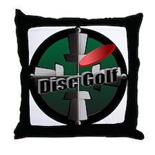 Disc Golf Site Throw Pillow