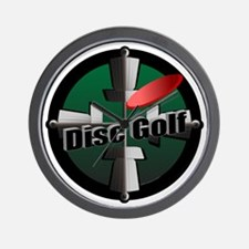 Disc Golf Site Wall Clock