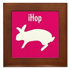 Bunny iHop Framed Tile