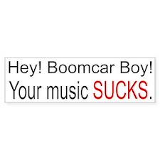 Boom Bumper Bumper Sticker