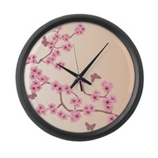 Cute Graphic Large Wall Clock