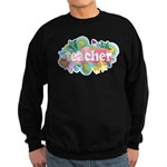 Cute Retro Teacher Sweatshirt (dark)