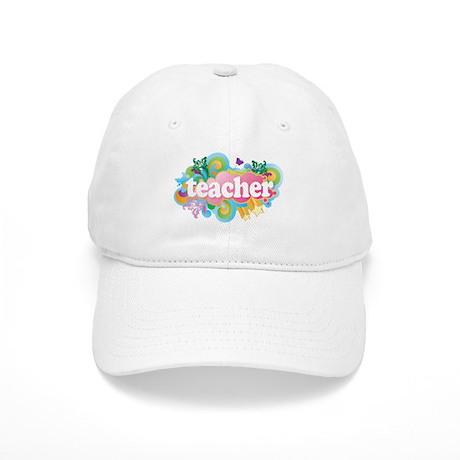 Cute Retro Teacher Cap