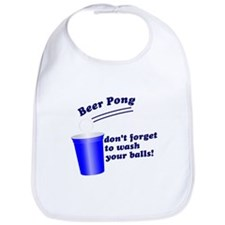 Dont Forget To Wash Your Ball Bib