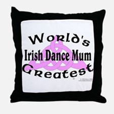Greatest Mum - Throw Pillow