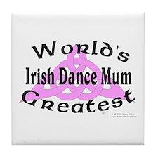 Greatest Mum - Tile Coaster