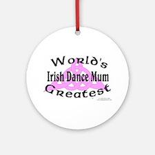Greatest Mum - Ornament (Round)