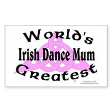 Greatest Mum - Rectangle Decal
