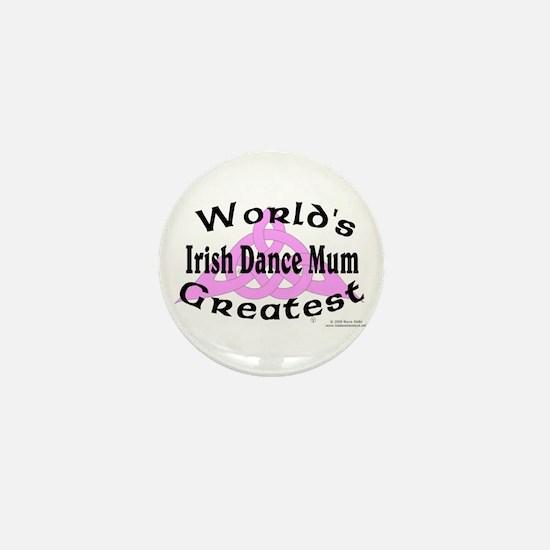 Greatest Mum - Mini Button