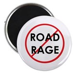 No Road Rage Magnet