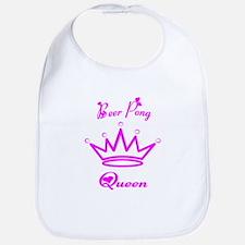 Beer Pong Queen Bib