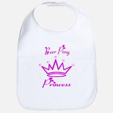 Beer Pong Princess Bib