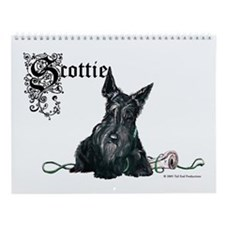 Celtic Scottish Terrier Wall Calendar