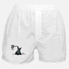 Celtic Scottish Terrier Boxer Shorts