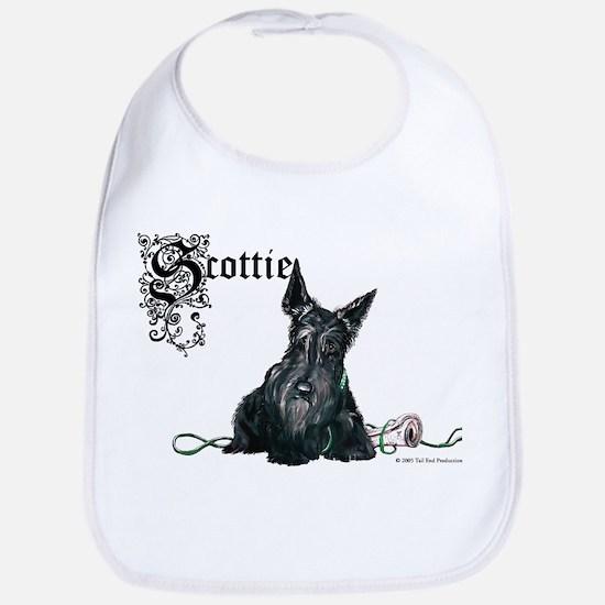 Celtic Scottish Terrier Bib