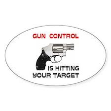 GUNS R' GOOD Oval Decal