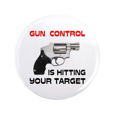"GUNS R' GOOD 3.5"" Button (100 pack)"
