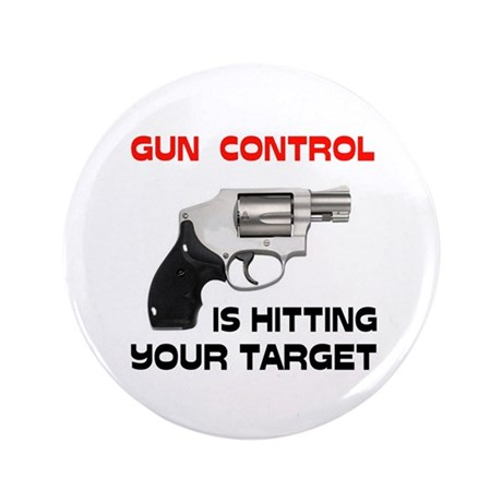 "GUNS R' GOOD 3.5"" Button"