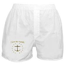 I Love My Captain: Boxer Shorts
