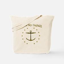 I Love My Captain: Tote Bag