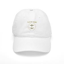 I Love My Baseball Captain: Baseball Cap