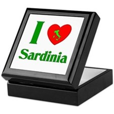 I Love Sardinia Keepsake Box