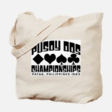 Pusoy Dos Championships Tote Bag