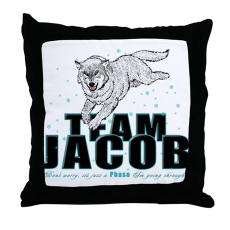 Wolf Jacob Throw Pillow